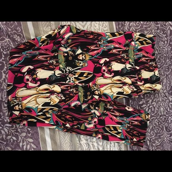 LuLaRoe Pants - Disney Lularoe leggings